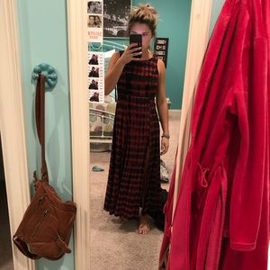 Urban outfitters maxi slit dress